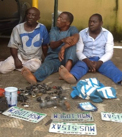 3 Suspected Car Snatchers Arrested In Anambra