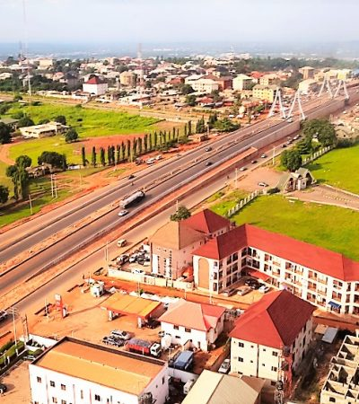 Obiano Works: [Photos] Building Awka To A Capital City