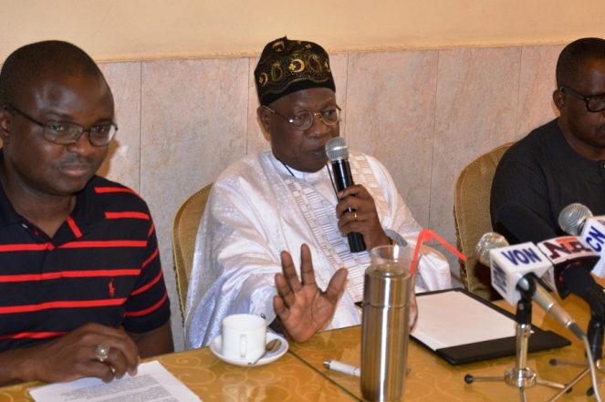 World Press Freedom Day: Lai Mohammed Admonishes Media On Fair Reporting