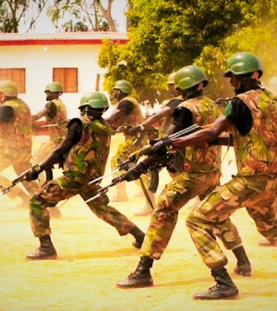 BreakingNews: 'Python Dance' Soldiers Attack Journalists, Destroy Properties In Abia