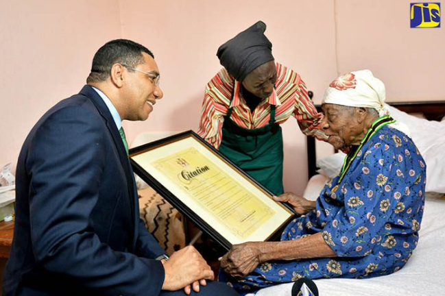 Aunt V, The World's Oldest Person, Dies In Jamaica At 117