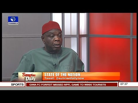 Quotes From Dan Ulasi, Fmr Anambra PDP Chairman's Appearance On Channels Television…