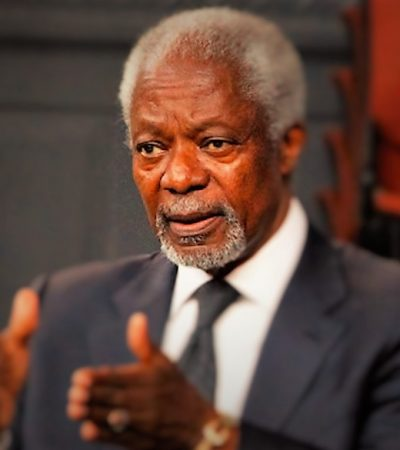 Kofi Annan: If The Muslim Brotherhood Was A Terrorist Group, Britain Would Expel Its Leaders From London