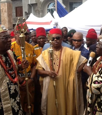 Anambra Guber: Ogidi Community Honours, Endorse Obiano For Second Term