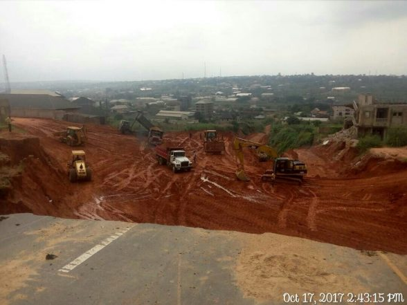 Progress Report: Images From Obosi Emergency Erosion Work