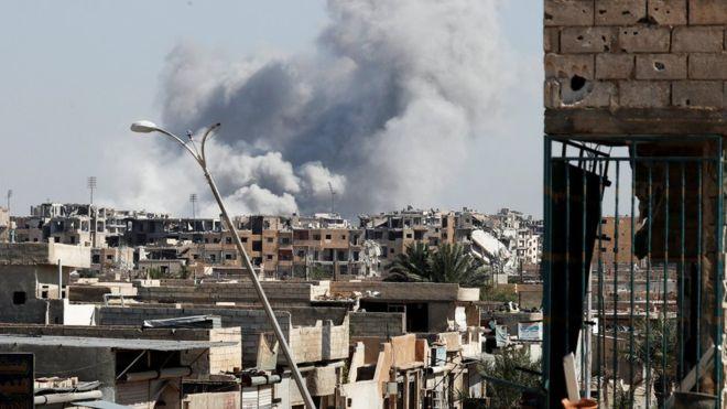 Syria War: 'Final Assault' Launched To Recapture Raqqa