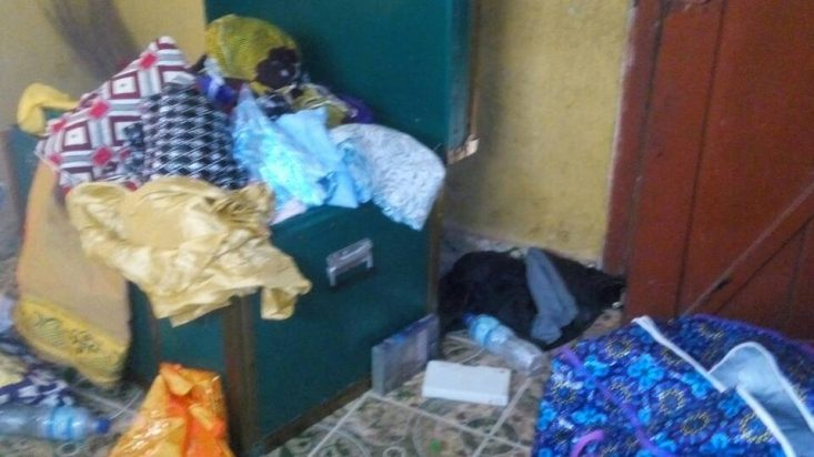 "[Photos] ""Nigeria Military Stole My Mother's Cloths"" – Nnamdi Kanu Brother"
