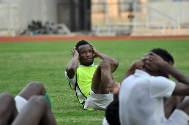 Nigeria vs Zambia: Victor Moses, Iwobi Miss Out On Eagles' First Training