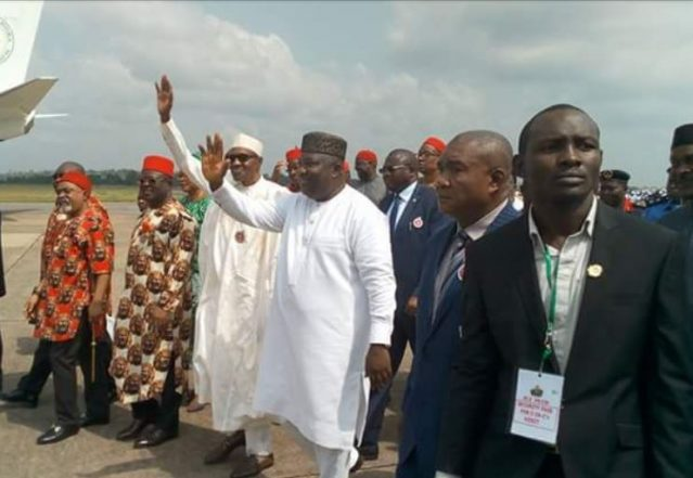 We'll Fulfill Our Promises On Infrastructure For The South-East, President Buhari Assures Ndigbo