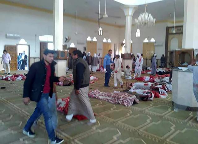 Attack On Mosque In Egypt's Sinai Kills At Least 184: State Media