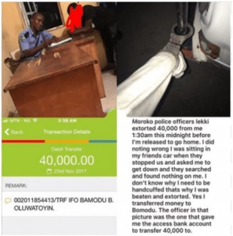Alleged N40,000 Mobile Banking Extortion In Maroko, Lagos: Officer Involved Apprehended, Investigation Ongoing