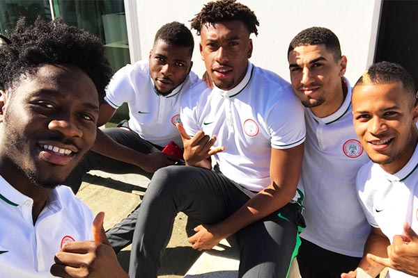 Iwobi Celebrates Super Eagles' Unbeaten Russia 2018 Qualifying Campaign