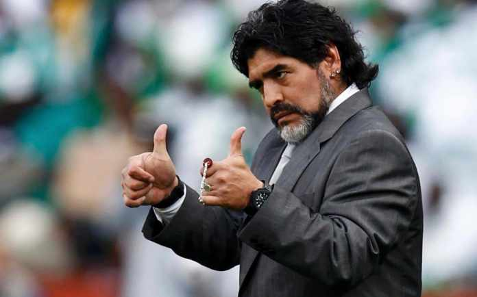 Maradona Reveals Interest In Nigerian Striker