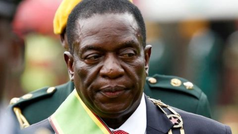 Zimbabwe's Mnangagwa Gives Key Cabinet Jobs To Military Figures