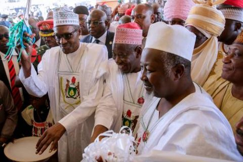 Buhari, Ganduje, And Kwankwaso's Visit To Kano – ByMuhammad Garba