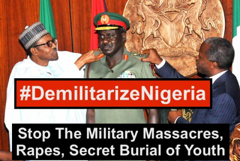 Buhari Formally Endorses Massacres By Extending Tenure of Murderous Army Chief Buratai