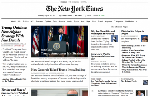 NY Times: How Not To Denigrate Our Troops' Achievements – By Terna Doki