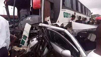 Woman Dies As Car Crashes Into Bus Stop In Awka