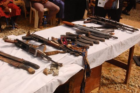 Police Parade 16 Notorious Kidnappers In Niger State