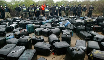Bunkering: Agency Arrests 9 Suspects, Confiscates Goods Worth Millions Of Naira