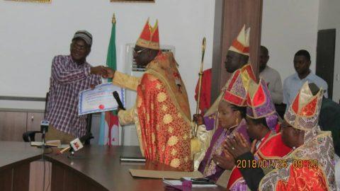 Evangelical Bishops Award Gov Ortom Most Valuable Governor In Nigeria