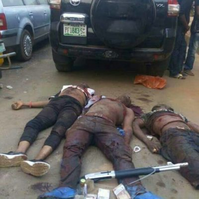 Police Kill 4 Kidnappers, As Gunmen Kill 2 Motorcycle Riders In Edo