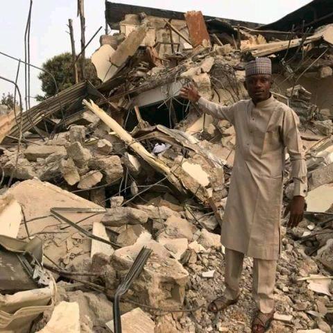 El Rufai Demolishes APC Factional Office At Midnight
