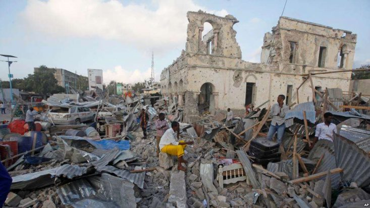 Mogadishu Blasts Death Toll Rises to 38