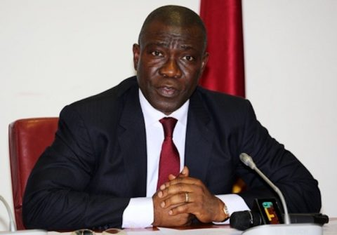 Ekweremadu Condoles With Governor Dickson Over Mother's Death