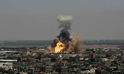 Israel strikes Hamas targets in Gaza after soldiers wounded