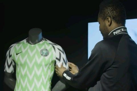 UK Mirror rates new Super Eagles' jersey as the best