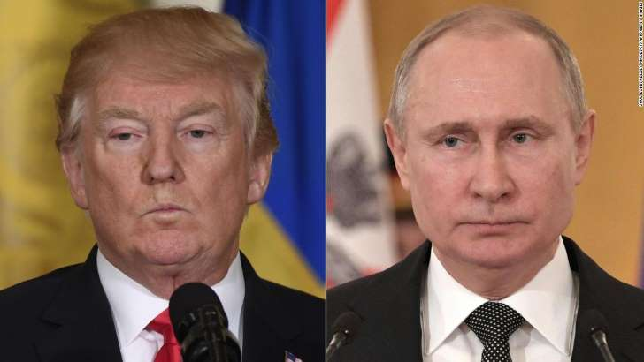 Trump has not called Putin since his election, White House says