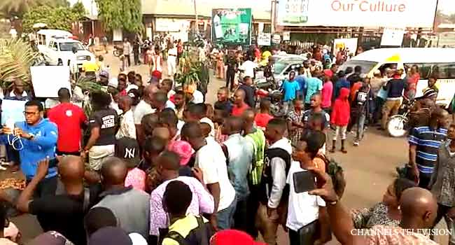 Army Intervenes As Youths Protest Arrest Of Suspected Cattle Rustlers