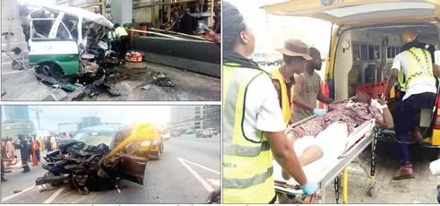Drunk Motorist Kills Four, Injures 16 In Lekki Toll Gate Crash