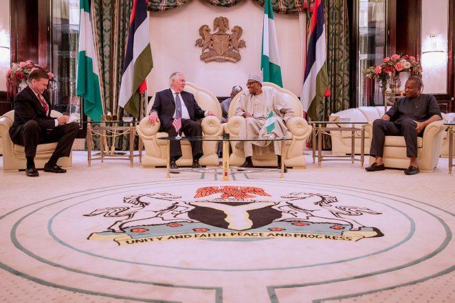 Buhari Explains To US Govt Why No Military Option Against Chibok/Dapchi Abductors