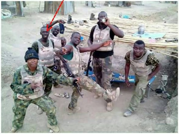 Images Of Sgt Bako The Whistleblower On Dapchi Girls