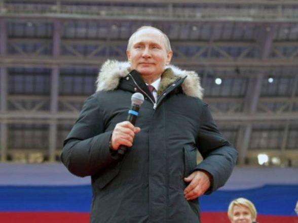 Russia's Vladimir Putin wins fresh six-year term