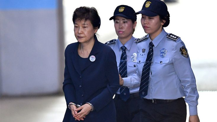 Ousted South Korean president Park Geun-hye given 24yrs in jail over corruption