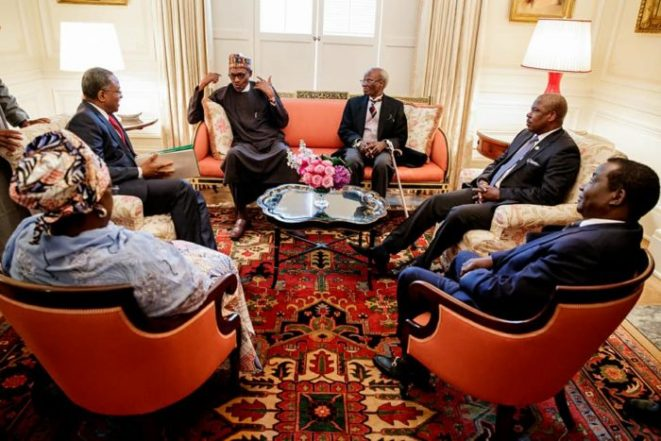 Buhari, Military Has Earned Us Global Accolades, Nigerians In America React To President's Visit – By Desita Itodo