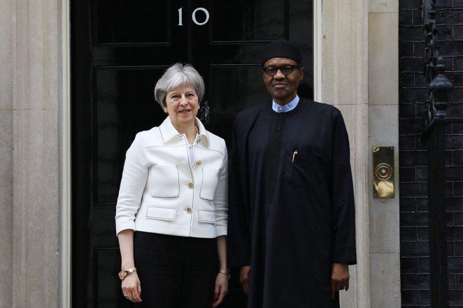 President Buhari Holds Talks With Theresa May
