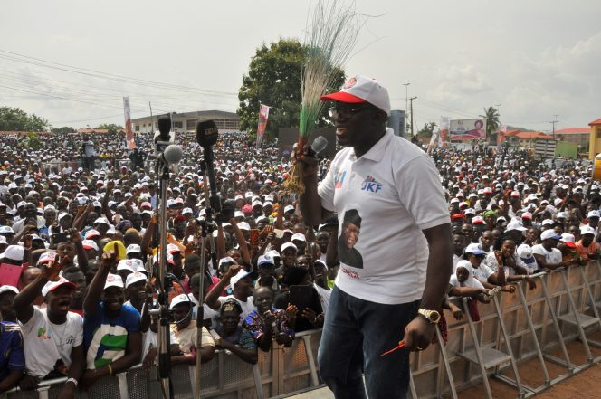Images From Fayemi's Guber Declaration
