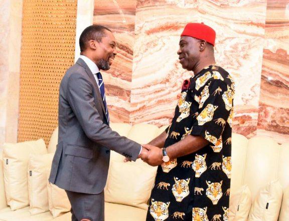Ekweremadu Receives ICC President, Pledges NASS' Support