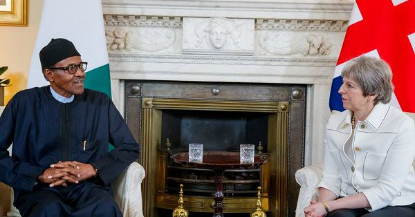 Politicians Are Preoccupied With Next Elections, But I Am Bothered More About Security And The Economy, President Buhari Tells British Prime Minister, Theresa May
