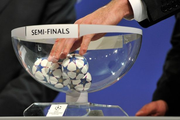 Europa and Champions League Semi- Final Draw: