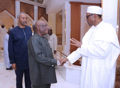 Buhari In Closed Door Meeting With Chief Justice Of Nigeria