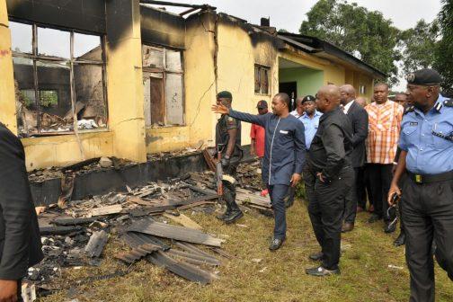 Gunmen Burn Down INEC Office In Rivers