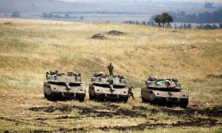 Israel retaliates after Iran 'fires 20 rockets' at army in occupied Golan Heights