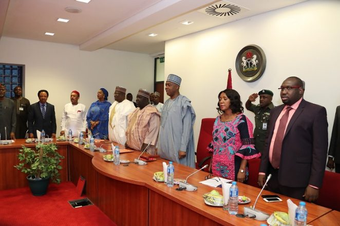 Saraki's Remark At Inauguration Committee To Probe Chamber Invasion