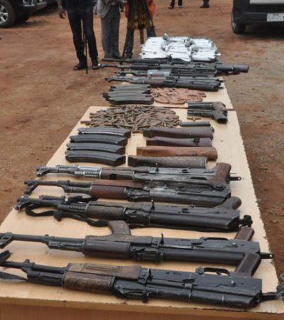 Police arrest 15 suspected criminals, recover guns, ammunition in Enugu