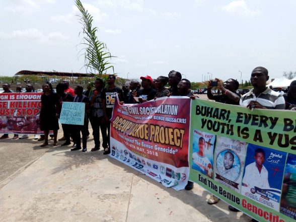 Worker's Day: Benue Workers Protest Killings In The State